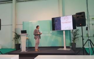 Juan Carlos Ausín presentando MyBik-E en Go Mobility